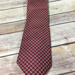 Men's navy and red Jos.A.Bank Tie